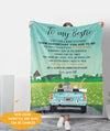 A Confident - Personalized Custom Blanket - Gift For Best Friends, Bff Gifts