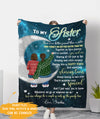 A Couple Of Nuts Off The Family Tree - Personalized Custom Fleece Blanket - Gifts For Sisters