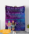 You've Helped Me Write My Story - Personalized Custom Fleece Blanket