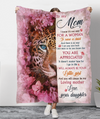 You Will Always Be My Loving Mother - Premium Fleece Blanket - Mother's Day Gifts