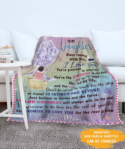 Travel To Infinity - Personalized Custom Fleece Blanket