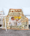 Living The Dream - Personalized Custom Photo Blanket