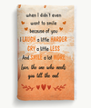 Because Of You - Personalized Custom Fleece Blanket - Gifts For Best Friends