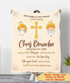 May The Lord Bless You - Personalized Custom Fleece Blanket - Christian Baby Blanket