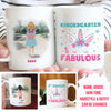 School Is Fabulous - Personalized Custom Coffee Mug -  Back to School Mug