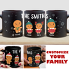 Gingerbread Family - Personalized Custom Coffee Mug - Family Mug