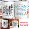 Close To My Heart - Personalized Custom Coffee Mug - Gifts For Sister-In-Law