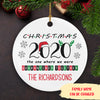 Christmas 2020 - Personalized Ceramic Christmas Ornaments