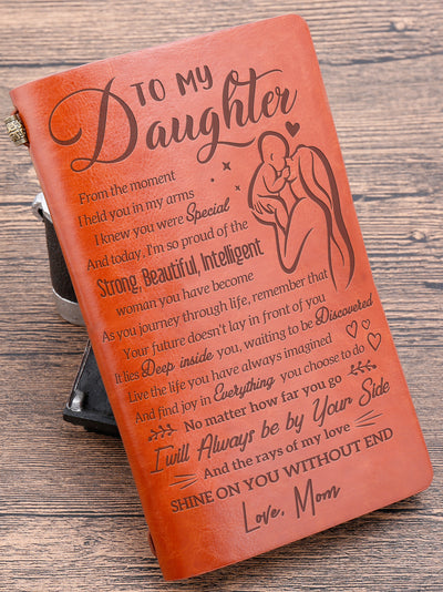 Daughter Mom - Proud Of You - Vintage Journal