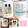 Thank You - Personalized Custom Coffee Mug - Gifts For Sister
