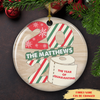 2020 Toilet Paper Year - Personalized Ceramic Christmas Ornaments