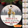 This Is Us - Personalized Ceramic Christmas Ornaments