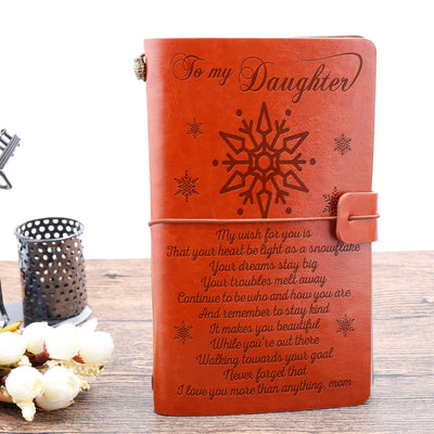 DAUGHTER MOM - MY WISH FOR YOU - VINTAGE JOURNAL