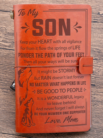 SON MOM - BE GOOD TO PEOPLE - VINTAGE JOURNAL