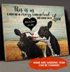 This is us - Personalized custom canvas - Anniversary Gifts For Husband, Wife