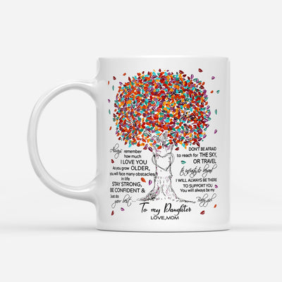 DAUGHTER MOM - TO INFINITY AND BEYOND 2 - WHITE MUG