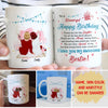 Happy Birthday To My Bestie - Personalized Custom Coffee Mug