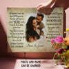 The Love Of My Life - Personalized Custom Photo Canvas