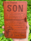 SON DAD - PROUD OF YOU - VINTAGE JOURNAL