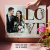 Love - Personalized Custom Photo Canvas - Anniversary Gifts