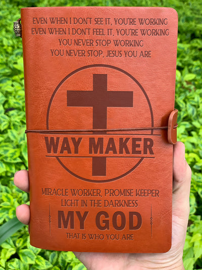 WAY MAKER - VINTAGE JOURNAL