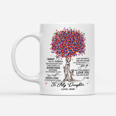 Daughter Mom - Never Lose - Coffee Mug