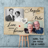 Love Means Forever - Personalized Custom Canvas
