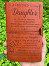 DAUGHTER MOM - GOT YOUR OWN WINGS - VINTAGE JOURNAL