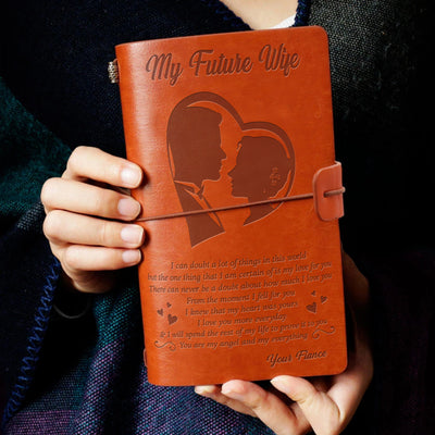 MY FIANCEE - MY EVERYTHING - VINTAGE JOURNAL