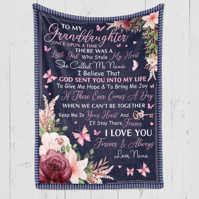 Granddaughter Nana - Once Upon a Time - Fleece Blanket