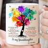To My Granddaughter - Believe in Yourself - Coffee Mug