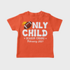 Only Child Season Ending - Personalized Custom Youth T-shirt - Pregnancy Announcement T-shirt