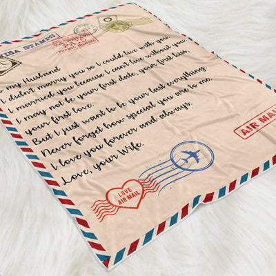 Write Your Own Letter - Personalized Fleece Blanket
