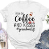 Coffee and Kisses (Grandma) - Classic Women's T-shirt
