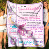 Love you for the rest of my life - Fleece Blanket - Sentimental Gifts For Granddaughter
