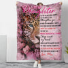 Let Life Strengthen You - Premium Fleece Blanket - Gifts For Daughter