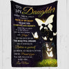 The Beautiful Dreams - Premium Fleece Blanket - Gifts For Daughter