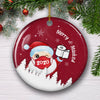 Merry & Masked - Ceramic Christmas Ornaments - Christmas Decorations