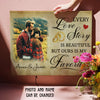 Love Story 2 - Personalized Custom Photo Canvas - Anniversary Gifts