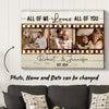 All of me - Personalized Custom Photo Canvas