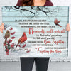 Loving You Always, Forgetting You Never - Premium Matte Canvas - Memorial Canvas