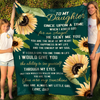 Daughter Dad - Once Upon a Time - Premium Fleece Blanket