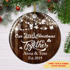 Christmas Together - Personalized Ceramic Christmas Ornaments