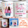 Bestie Valentine Gift - Personalized Custom Coffee Mug