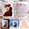 My Heart Is Yours - Personalized Custom Coffee Mug - Valentine Gifts For Boyfriend