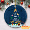 Christmas Family Tree - Personalized Ceramic Christmas Ornaments