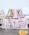 Hello Baby - Personalized Custom Photo Fleece Blanket