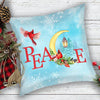 Peace - Premium Linen Pillow - Home Decor Pillow