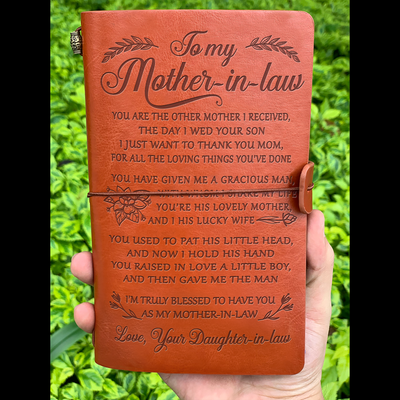 MOTHER-IN-LAW - THANK YOU - VINTAGE JOURNAL