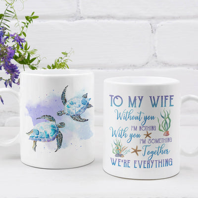 Together We're Everything - Premium Coffee Mug - Gifts For Wife